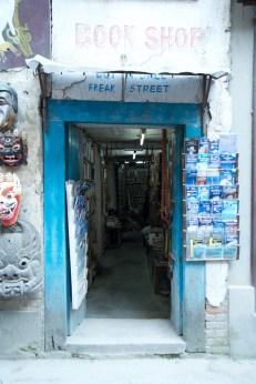 A postcard shop
