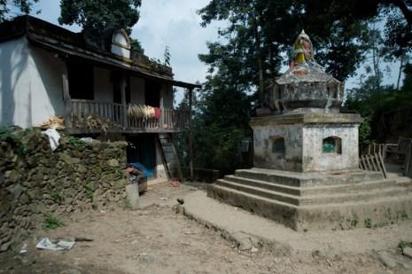 Passed by a stupa