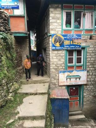 Tengboche to Namche Bazaar
