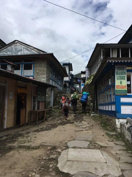 Mission accomplished - back to Lukla