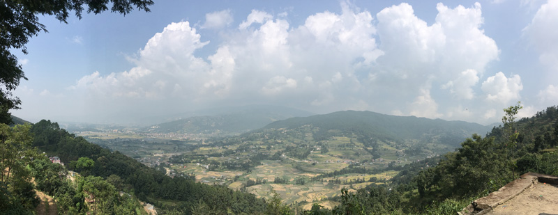 View of Kathmandu Valley