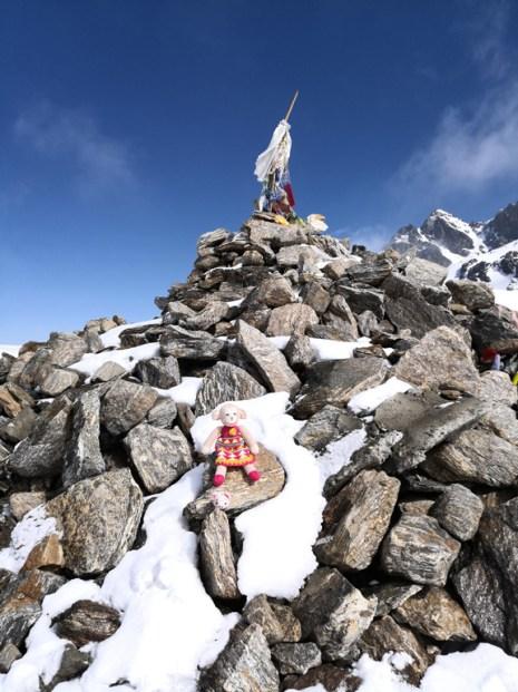 Lauribina La - Highest point of Gosaikunda trek