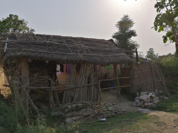 A typical Tharu house