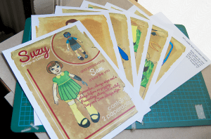 Paper Doll Sheets