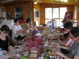 Debbie-Crothers-Polymer-Clay-Artist-Griffith-Workshops (2)