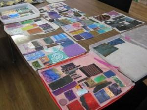 Debbie-Crothers-Polymer-Clay-Artist-Instructor-Silkscreen-Veneer-Bead-Tubes