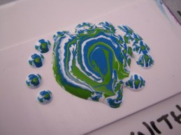 Acrylic Pouring On Raw Polymer Clay Debbie Crothers