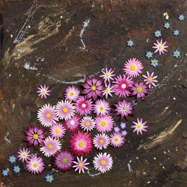 Debbie-Crothers-Polymer-Clay-Artist-Instructor-Workshop-Tutorial-Everlastings-Flowers-Statement-Art