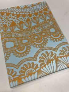 Debbie-Crothers-Texture-Paint-Silk Screen-MOIKO-Tutorial-Polymer-Clay