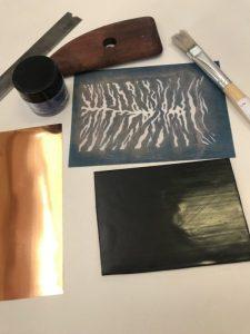 Debbie-Crothers-Polymer-Clay-Veneer-Mica-Powder