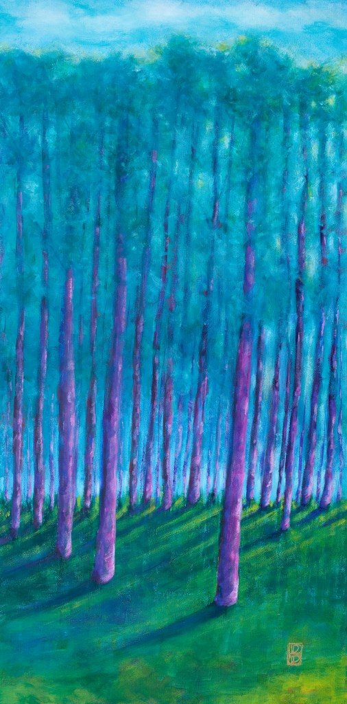 Tall Trees Of Blue