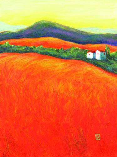 Orange Fields 2