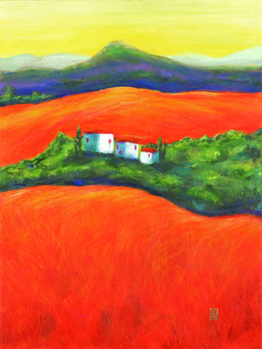Orange Fields 3