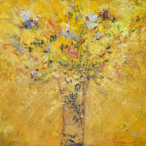 Gold-Floral