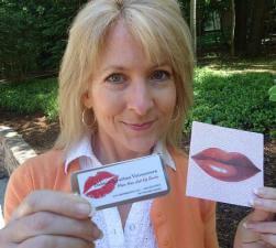 Lip Balm Mailer Promotes Voice Over Services