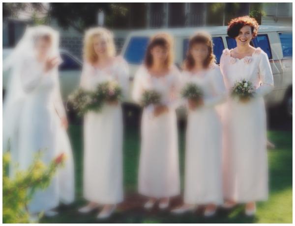 Bridesmaid in 1993