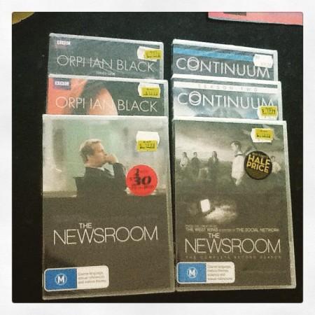 My DVD haul! #TVonDVD