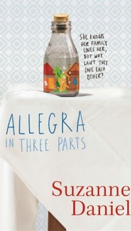 Book review: Allegra in Three Parts by Suzanne Daniel