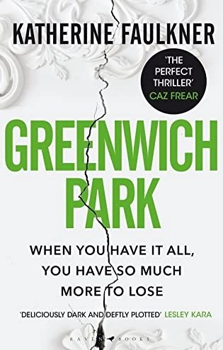 Book review: Greenwich Park by Katherine Faulkner
