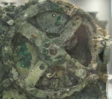 """The first computer"" found in shipwreck near the Greek island of Antikythera"