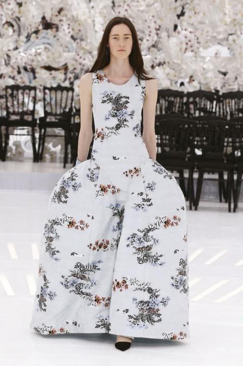 vestido dior invierno 2014