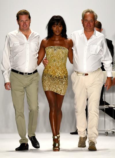 James Mischka y Mark Badgley  semana de la moda