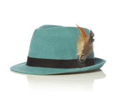 sombrero con pluma bdba
