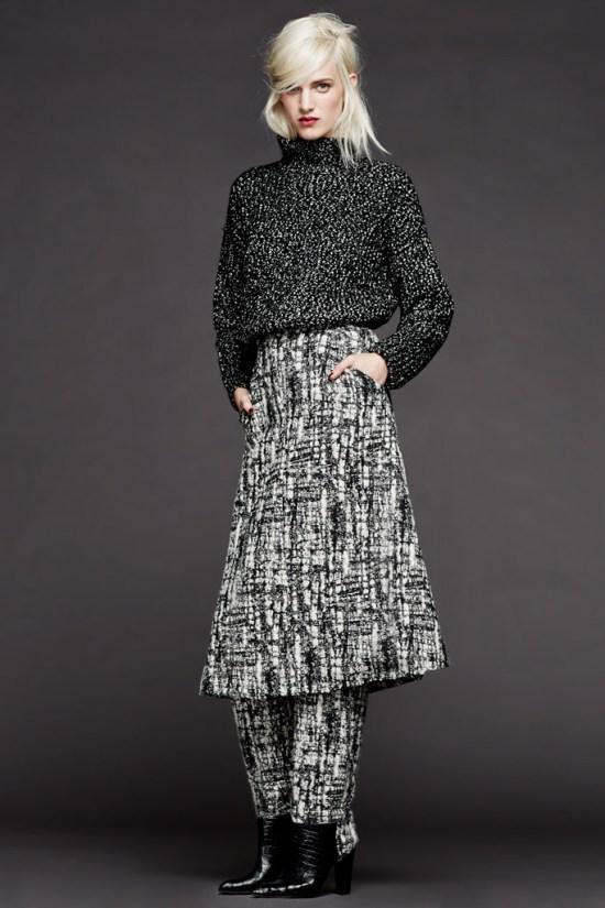 pedro-del-hierro-para-mujer-otono-invierno-2014-2015-falda-pantalon-estampado-jersey-sudadera