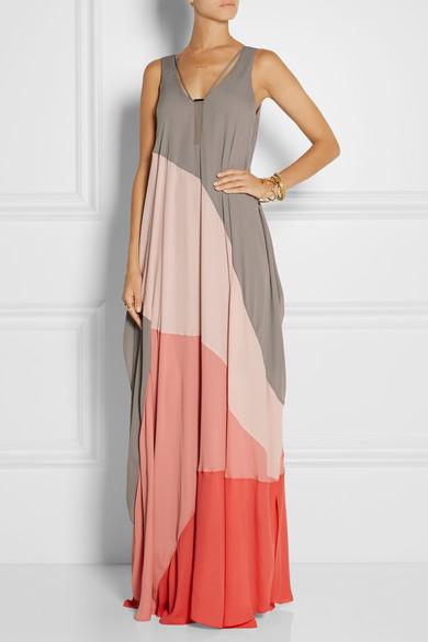 halston heritage vestido