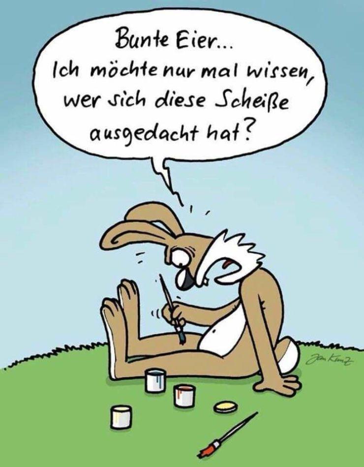 Ostergrüße Whatsapp Lustig 2021
