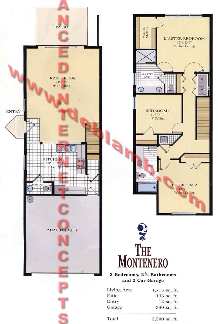 The Montenero - Pinehurst at Stratford Place