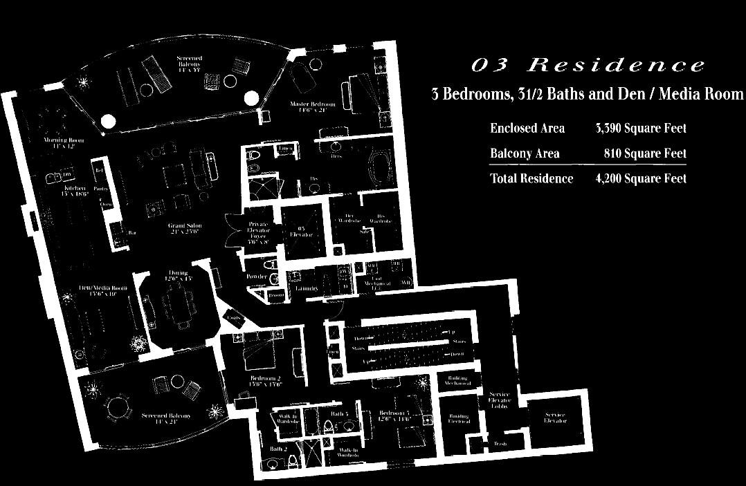 Remington at Bay Colony 03 Floor Plan