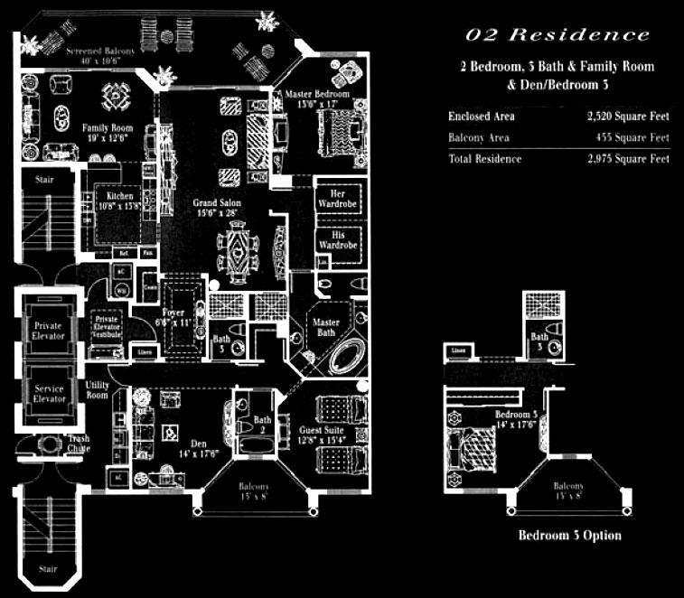 Toscana at Bay Colony 02 Floor Plan