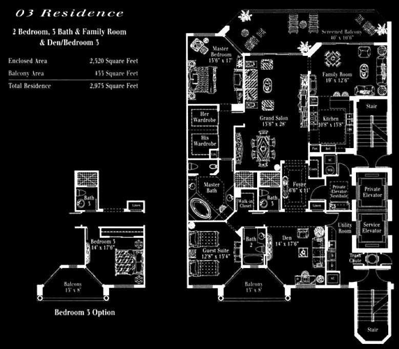 Toscana at Bay Colony 03 Floor Plan