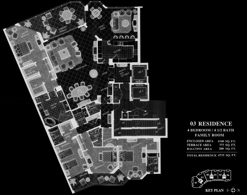 Trieste at Bay Colony 03 Floor Plan
