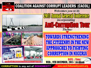 Anti-Corruption Tour Banner
