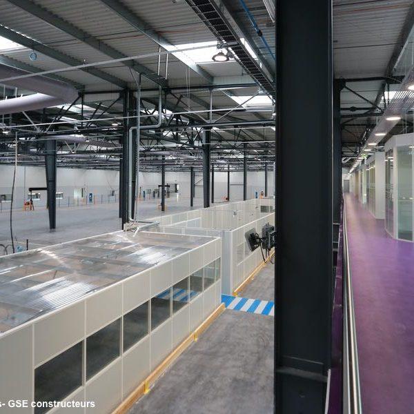 vue intérieure usine