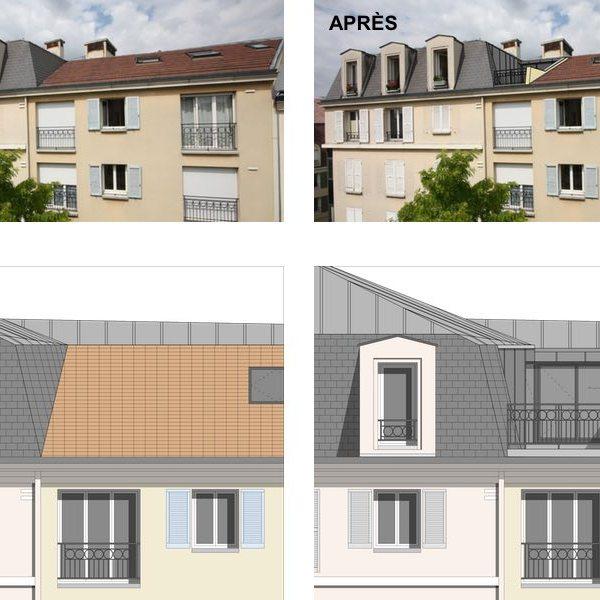 conception architecte plan modélisation
