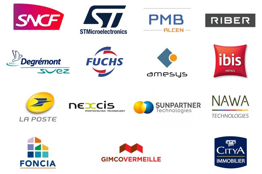 Logos clients De Bokay