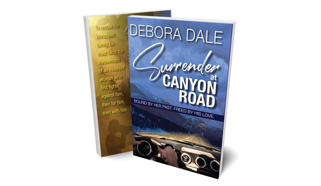 """Product shot of suspense romance """"Surrender at Canyon Road"""""""
