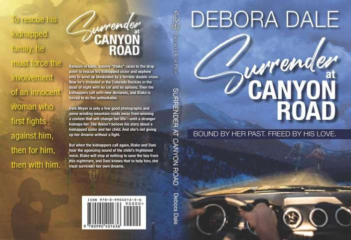 Surrender at Canyon Road book cover flat