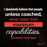 Coaching Maximum Capabilities