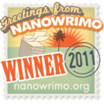 NaNoWriMo Winner 2011