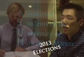 UH Manoa Student Government Election 2013
