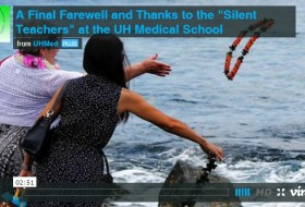 "A FINAL THANK YOU AND FAREWELL to the 2013 ""Silent Teachers"""