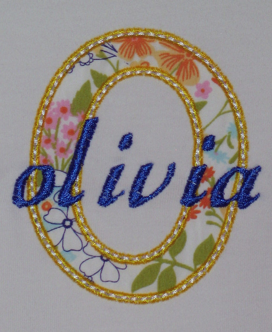 Debora's Custom Stitches Monogram