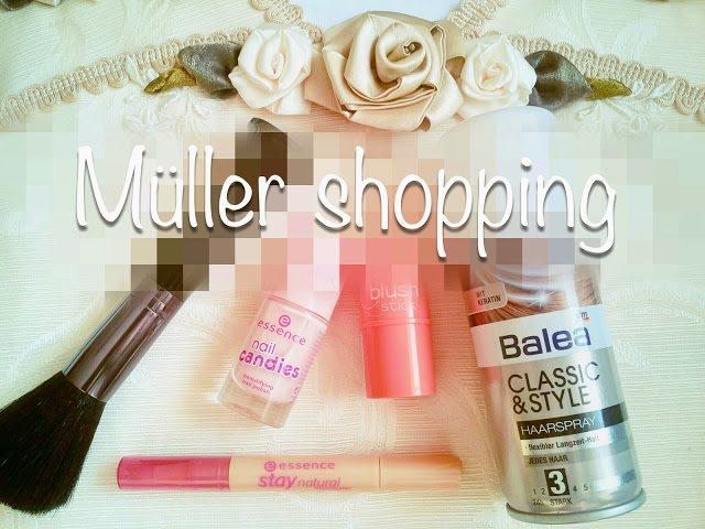 Haul #4: Produse din Müller