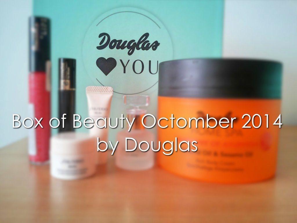 Haul #7: Box of Beauty by Douglas