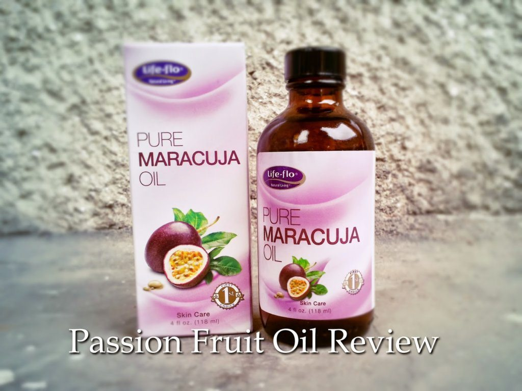 Pure Maracuja Oil from Secom & LifeCare – Review
