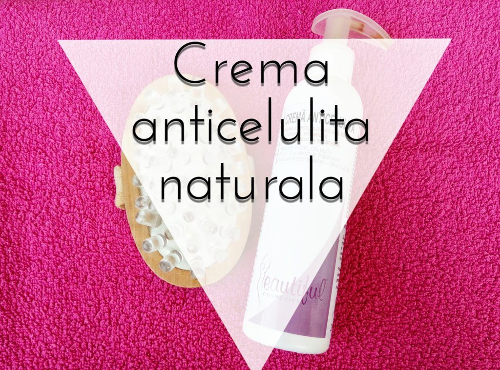 Crema anticelulita cu AntioxiVita si cafeina – review
